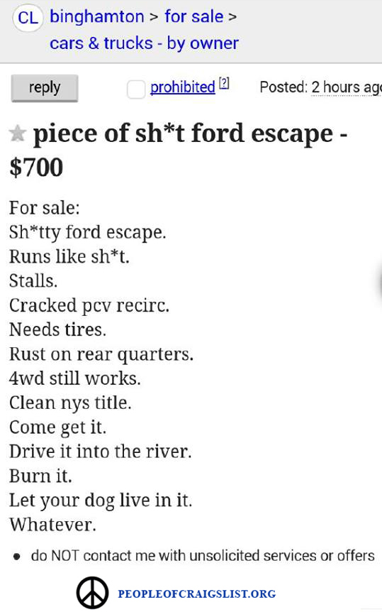 Piece of Shit Ford
