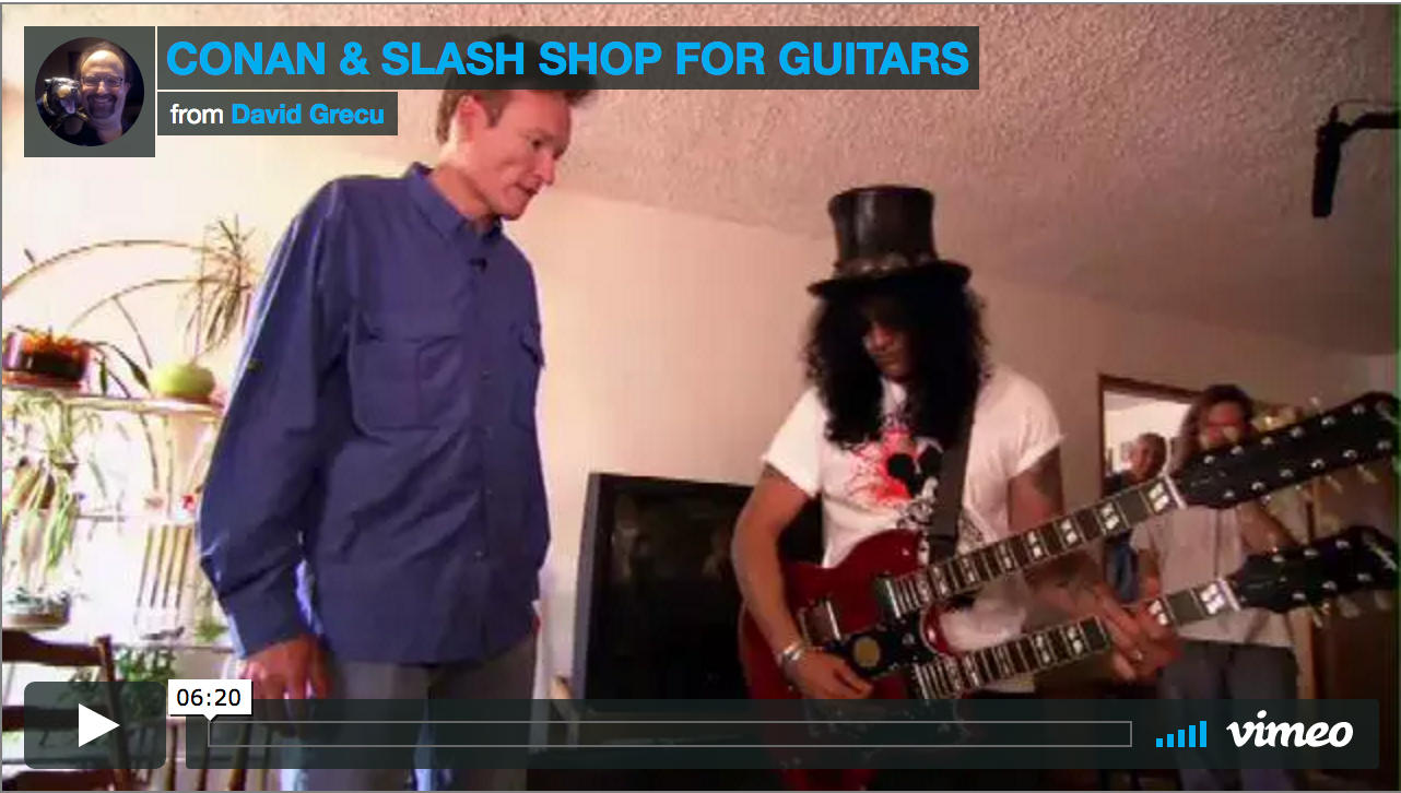 Conan and slash on craigslist