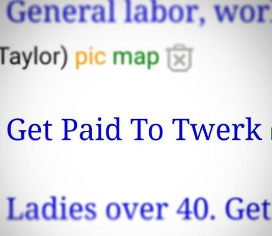 get paid to twerk on craigslist