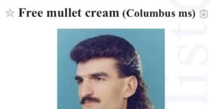 craigslist free mullet cream